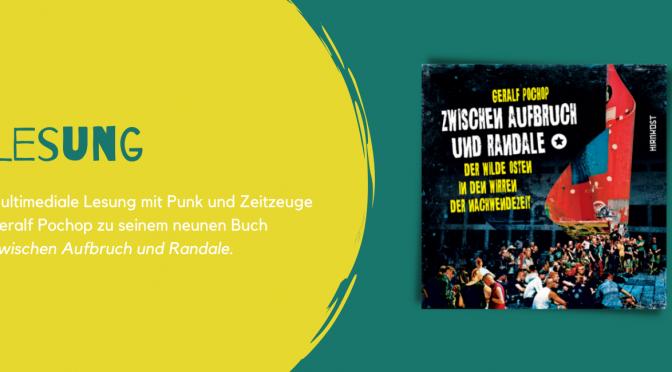 """Geralf Pochop bei """"meine freiheit. subkultur in der ddr zwischen rebellion und repression"""" in Gotha"""