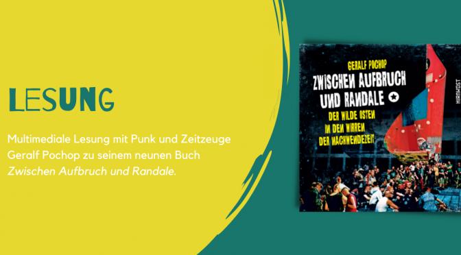 Bühne im Kubus »Untergrund war Strategie. Punk in der DDR – Zwischen Rebellion und Repression«