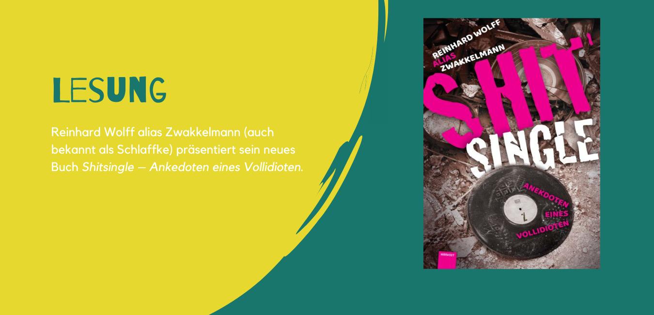 Reinhard Wolff | Lesung