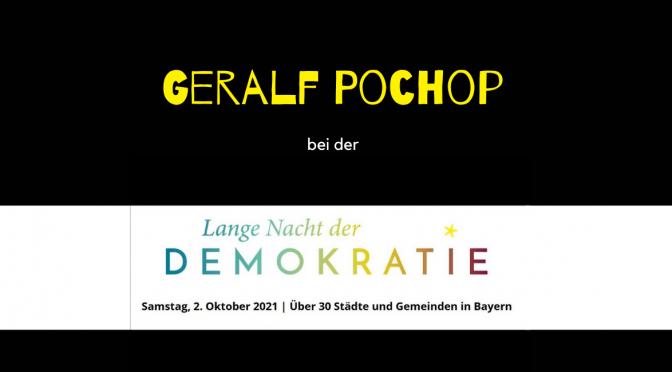 Lange Nacht der Demokratie in Mödlareuth | Geralf Pochop liest