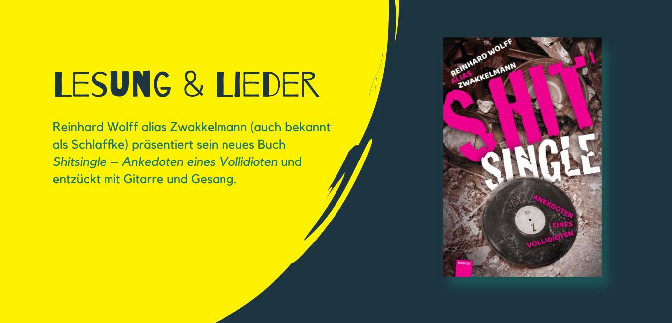 Zwakkelmann - Lesung und Lieder